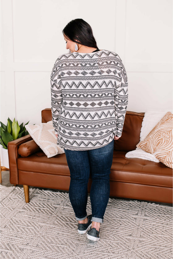 Coral and Mint Summer Varsity Hoodie (4724280819801)