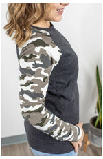 Camo Sleeve Pullover (Ready to Ship) (4719582380121)