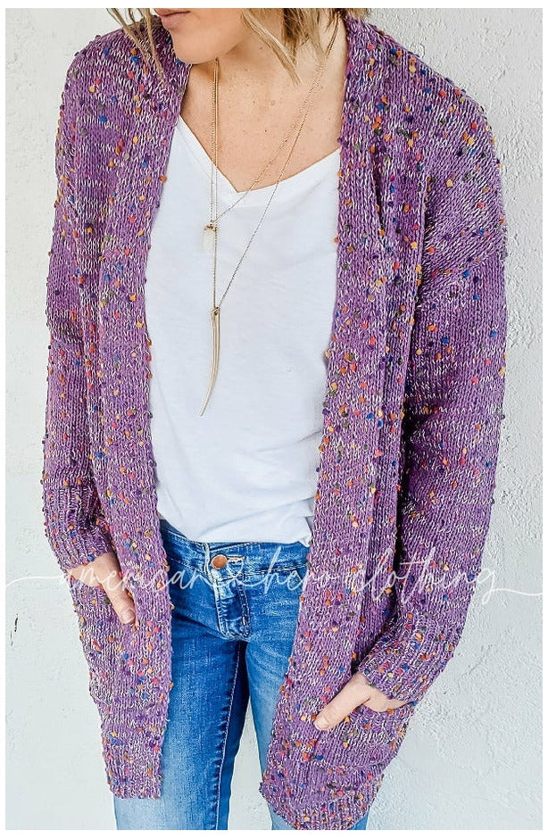 Miley Dot Cardigan (Ready to Ship) (4745124282457)