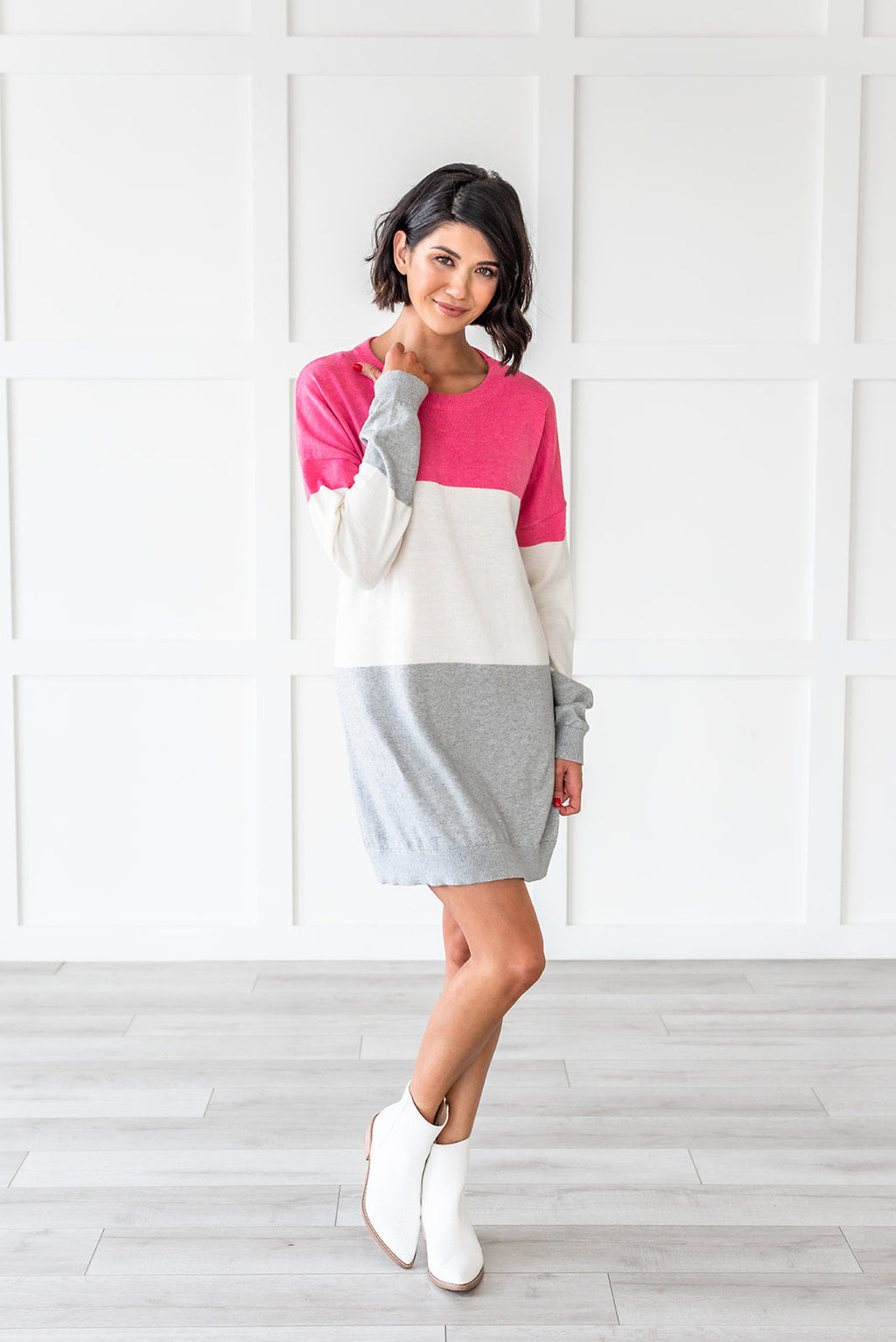 Easy To Love Color Block Dress/Tunic