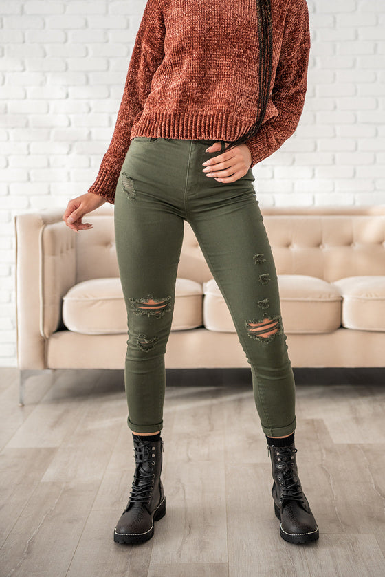 Back For More Colored Relaxed Skinny Jeans (4748729417817)