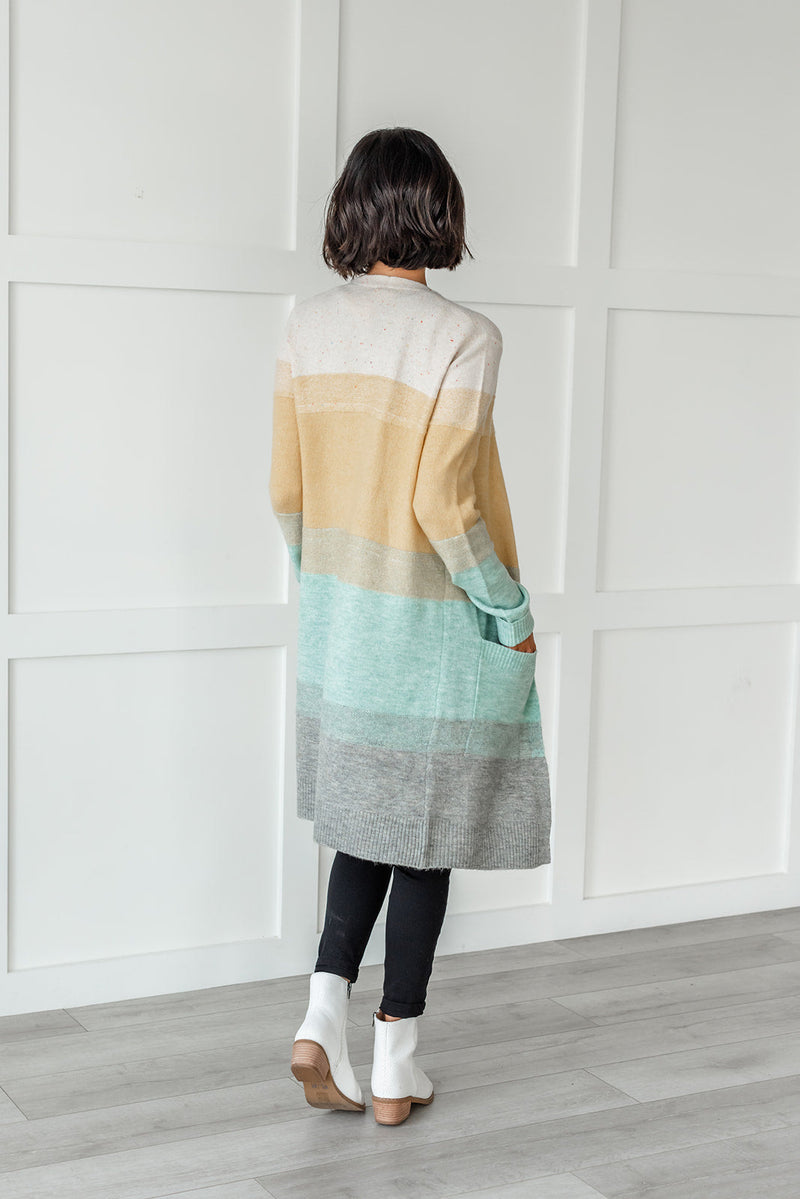 Easy On Your Eyes Color Block Sweater