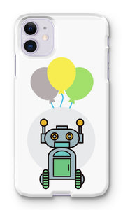 Green Robot Phone Case