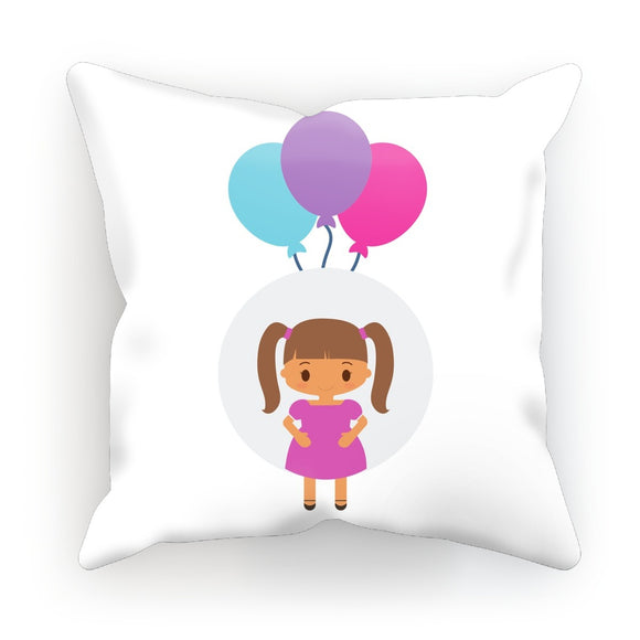 Happy Girl Cushion