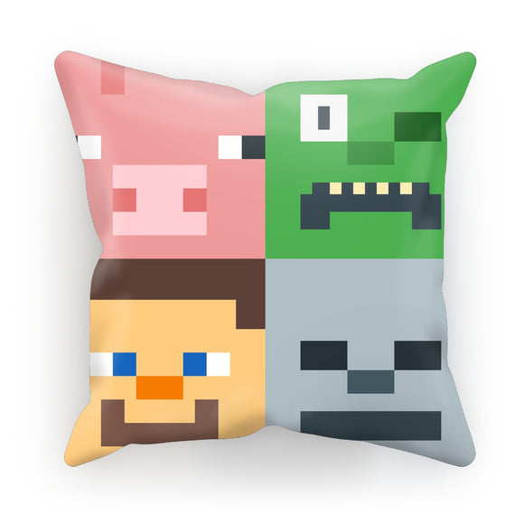 Minecraft Characters Cushion