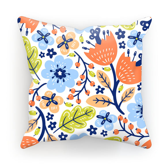 Spring Flowers Cushion