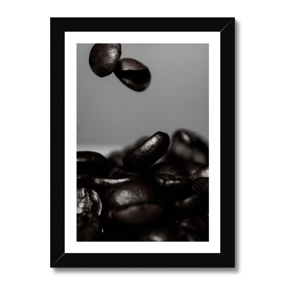 Dark Roast Framed Print