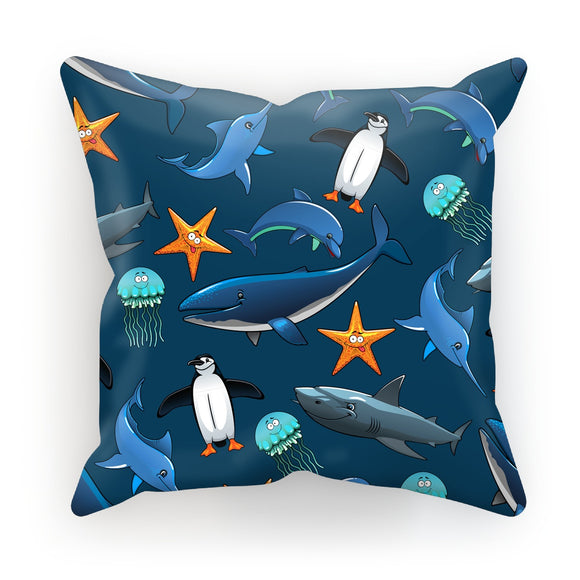 Sea Creatures Cushion