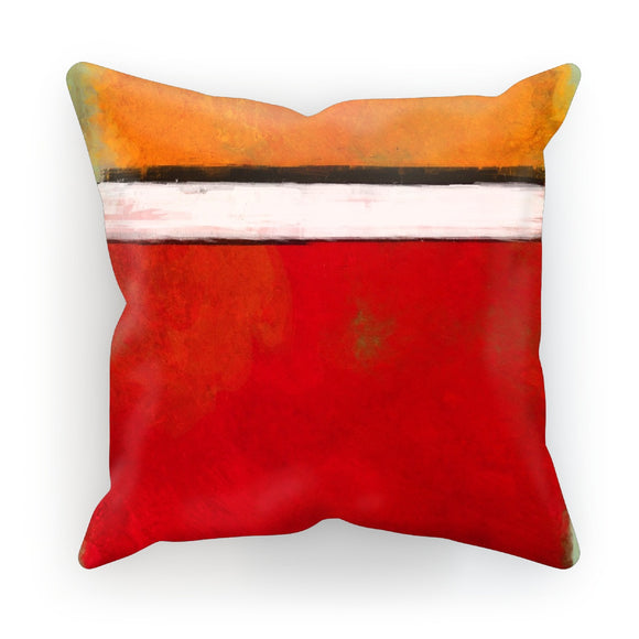 Rotko Red Cushion