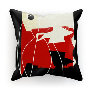 High Contrast Red Cushion