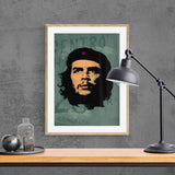 Che Green Framed & Mounted Print