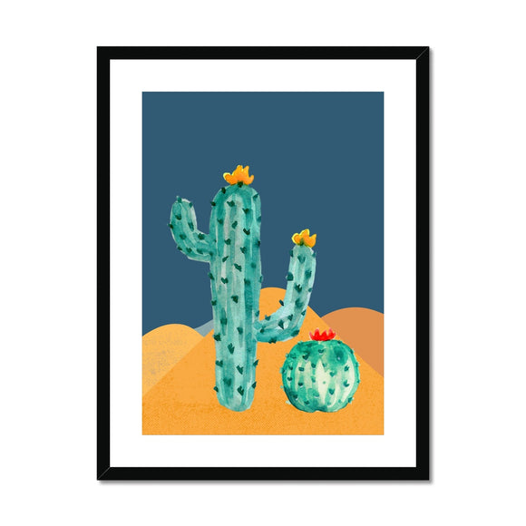 Cactus Framed & Mounted Print
