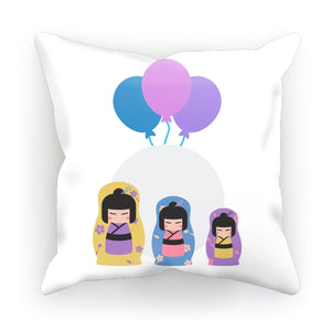 Kokeshi Dolls Cushion