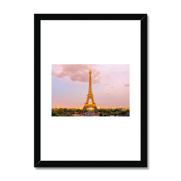 Paris Eiffel Tower Framed Print