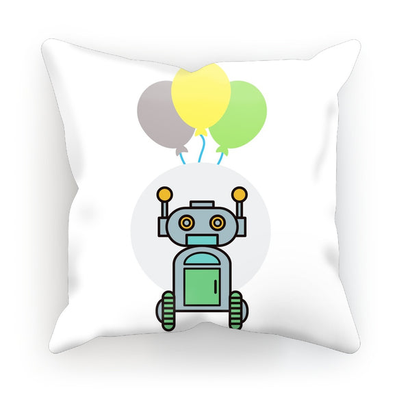 Green Robot Cushion