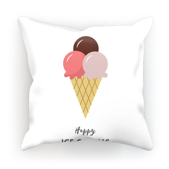 Happy Ice Cream Cushion