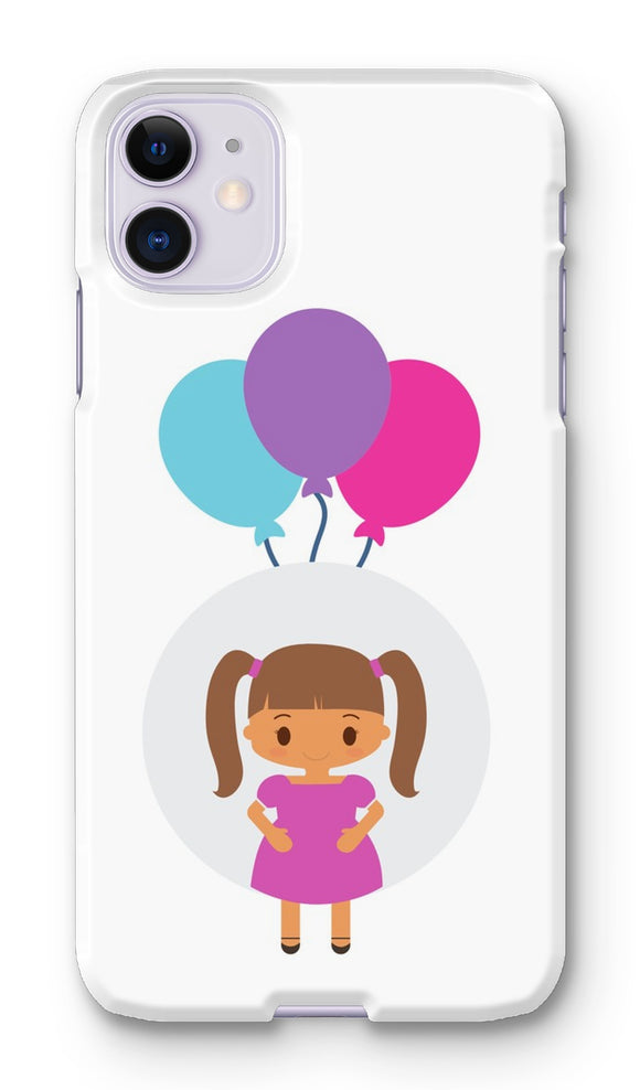 Happy Girl Phone Case