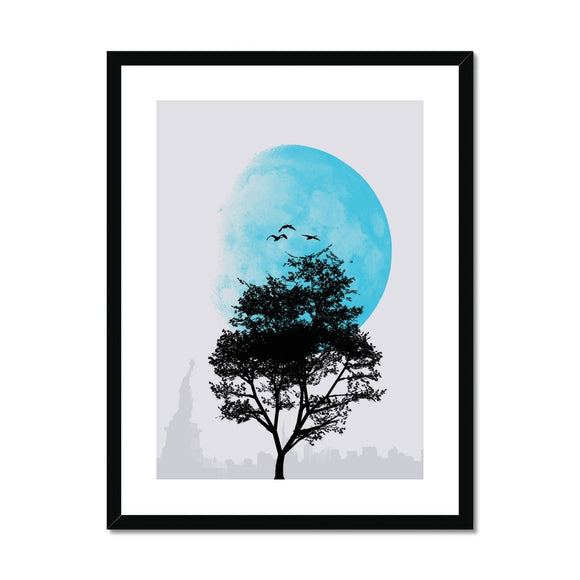 Tree and Moon Dawn - Rowdy Space