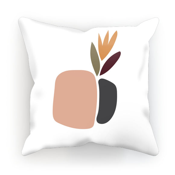 Abstract Plant Cushion