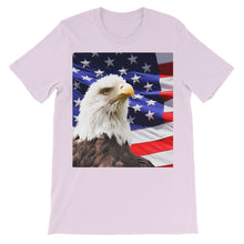 American Eagle and USA Flag Kids' T-Shirt
