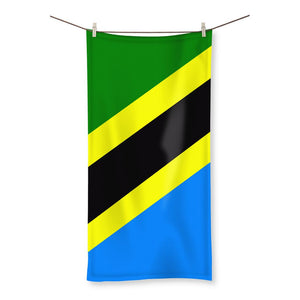 Flag Of Tanzania Beach Towel Homeware Flagdesignproducts.com