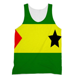 Flag Of São Tomé &principe Sublimation Vest Apparel Flagdesignproducts.com