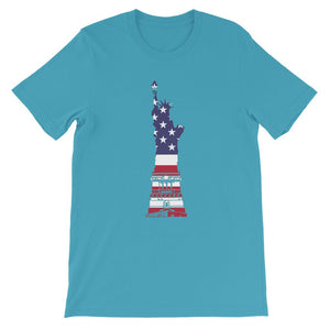 USA Flag State of Liberty Kids' T-Shirt