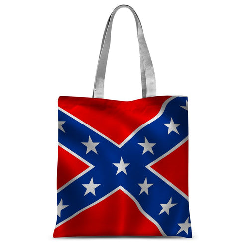 Confederate Flag Sublimation Tote Bag Accessories Flagdesignproducts.com