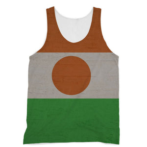 Niger Stone Wall Flag Sublimation Vest Apparel Flagdesignproducts.com