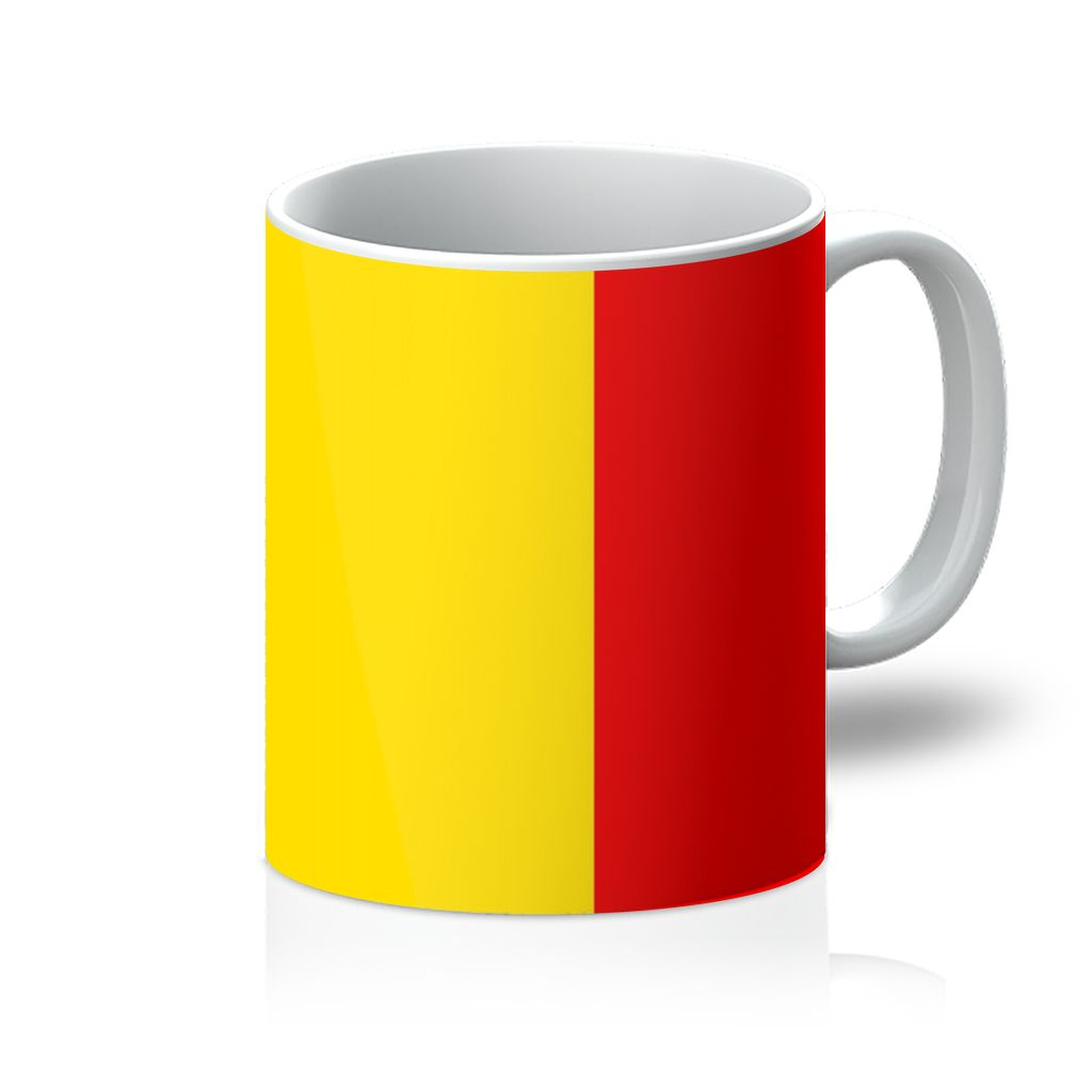 Basic Belgium Flag Mug Homeware Flagdesignproducts.com