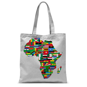 Africa countries flag Sublimation Tote Bag - FlagDesignProducts