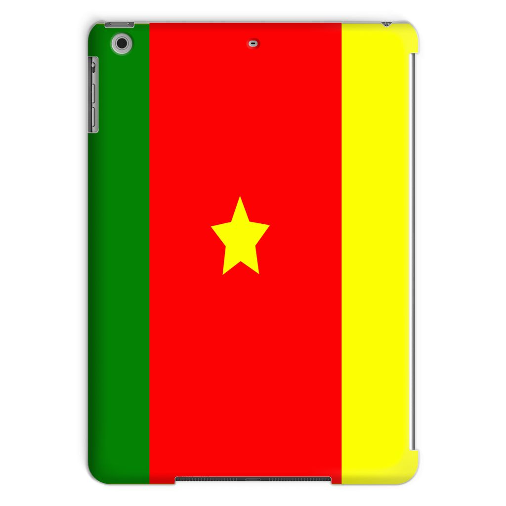 Flag Of Cameroon Tablet Case Phone & Cases Flagdesignproducts.com