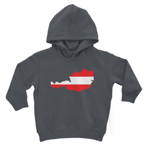 Austria Continent Flag Kids Hoodie Apparel Flagdesignproducts.com