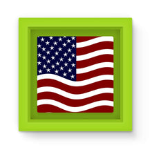 Waving Usa Flag Magnet Frame Homeware Flagdesignproducts.com