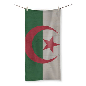 Algeria Stone Wall Flag Beach Towel Homeware Flagdesignproducts.com