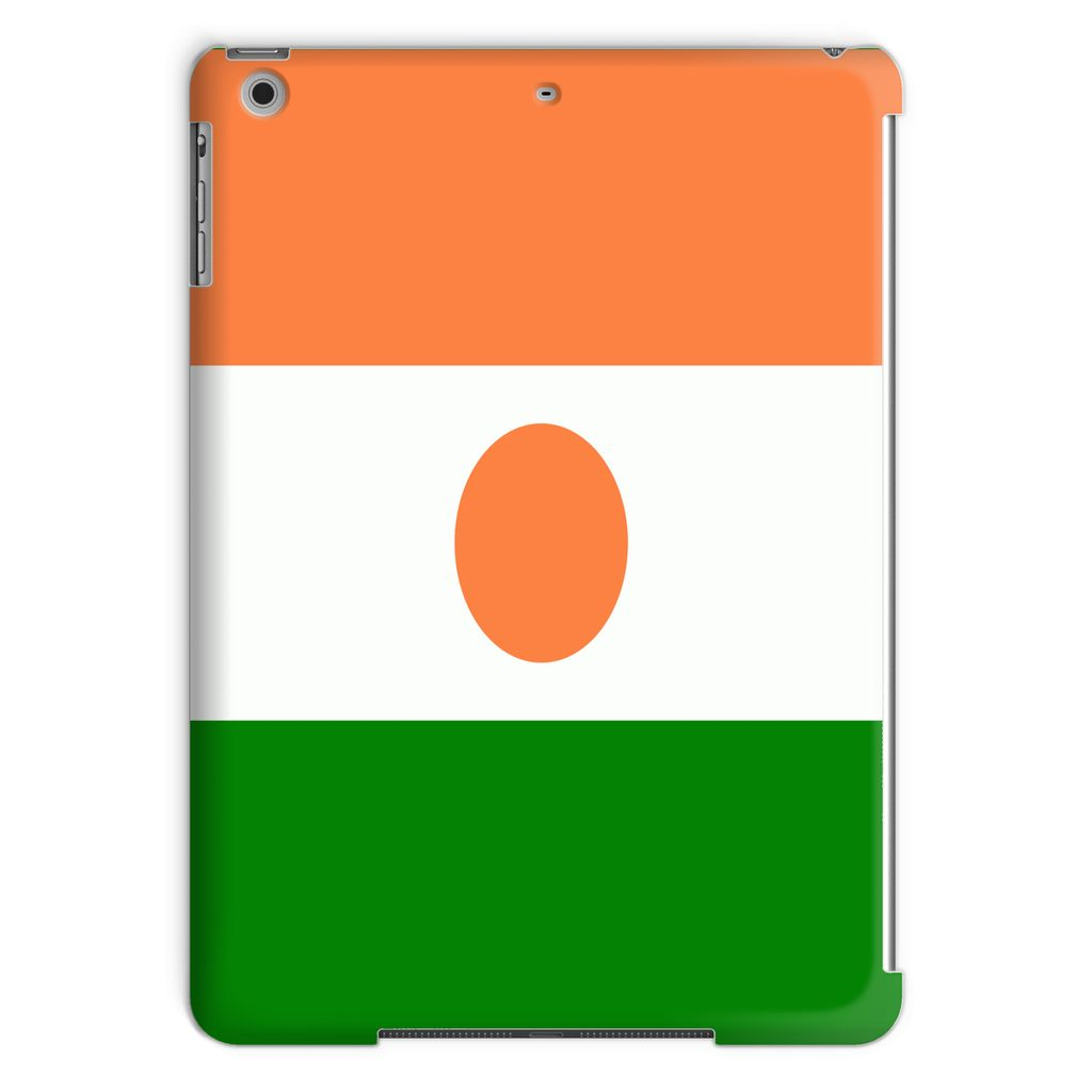 Flag Of Niger Tablet Case Phone & Cases Flagdesignproducts.com