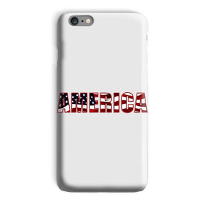 America Text With Flag Phone Case & Tablet Cases Flagdesignproducts.com