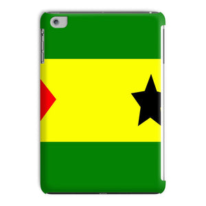 Flag Of São Tomé &principe Tablet Case Phone & Cases Flagdesignproducts.com