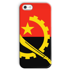 Angola Flag Phone Case & Tablet Cases Flagdesignproducts.com