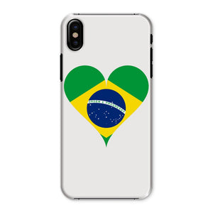 Brazil Heart Flag Phone Case & Tablet Cases Flagdesignproducts.com