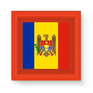 National Flag Of Moldova Magnet Frame Homeware Flagdesignproducts.com