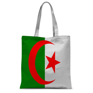 Flag Of Algeria Sublimation Tote Bag Accessories Flagdesignproducts.com