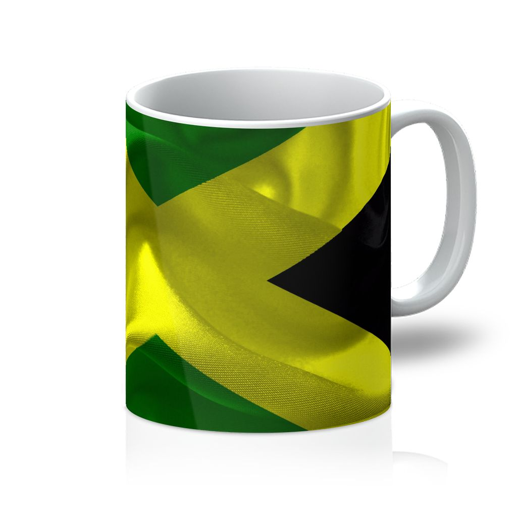 Waving Jamaica Flag Mug Homeware Flagdesignproducts.com