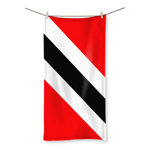 Flag Of Trinidad And Tobago Beach Towel Homeware Flagdesignproducts.com