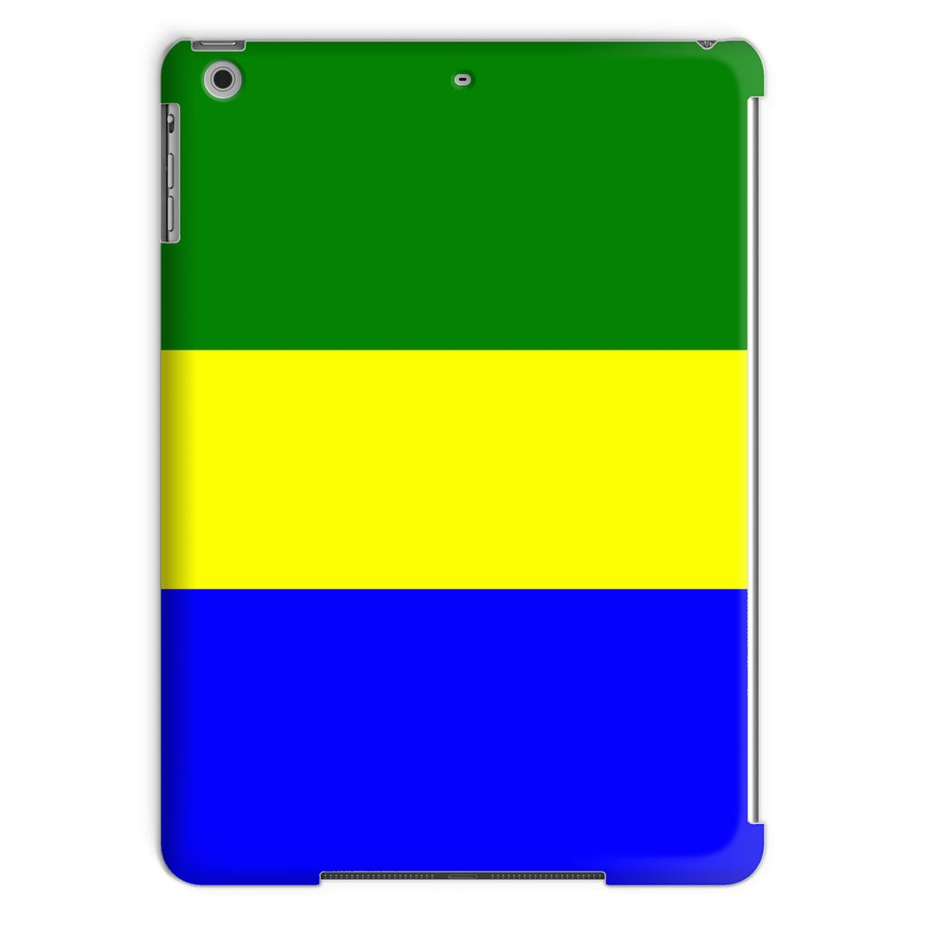 Flag Of Gabon Tablet Case Phone & Cases Flagdesignproducts.com