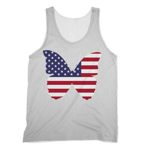 Usa Flag Butterfly Sublimation Vest Apparel Flagdesignproducts.com