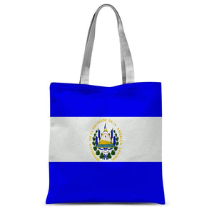 Flag Of El Salvador Sublimation Tote Bag Accessories Flagdesignproducts.com