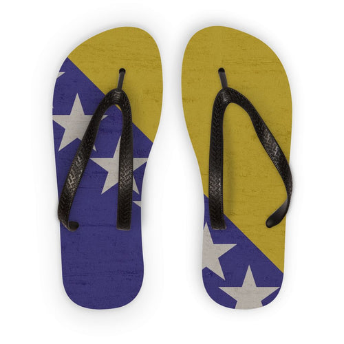 Bosnia & Herzegovina Flip Flops Accessories Flagdesignproducts.com