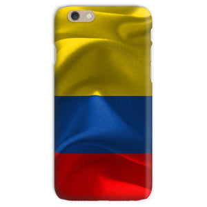 Waving Fabric Colombia Flag Phone Case & Tablet Cases Flagdesignproducts.com