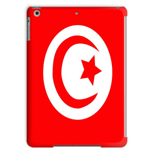 Flag Of Tunisia Tablet Case Phone & Cases Flagdesignproducts.com